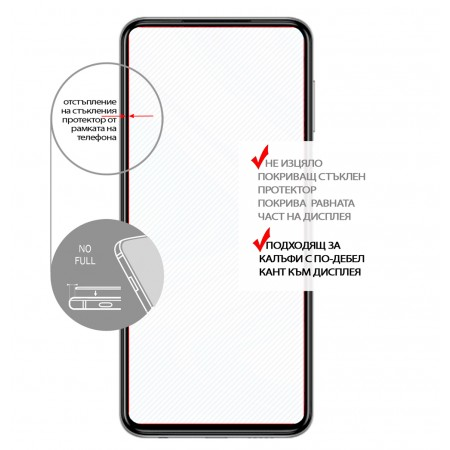 Impact resistant glass screen protector for Asus Zenfone Go ZC500TG 5\'