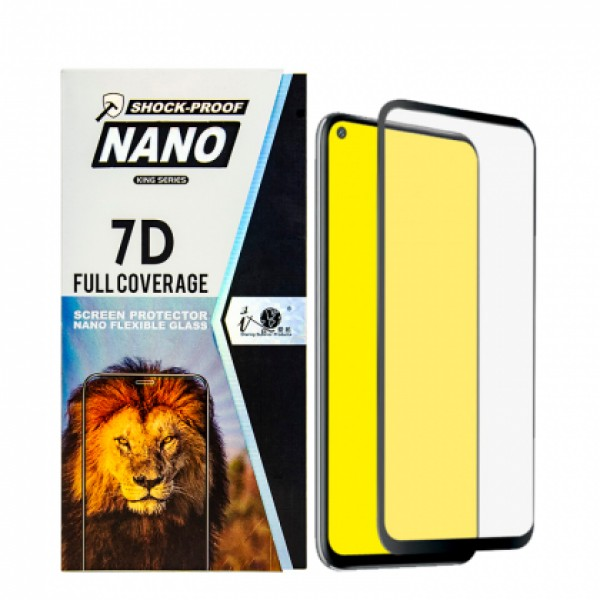 7D Nano Glass Full screen protector for Huawei P40 lite E / ART-L28, ART-L29
