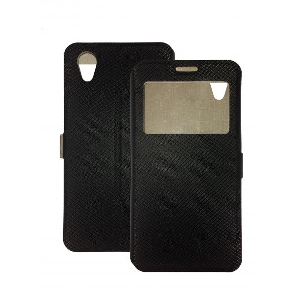 Black Book Window Pocket case for Alcatel 1 5033D / 1 2019