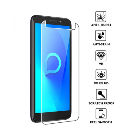 Impact resistant glass screen protector for Alcatel 1 5033D / 1 (2019)