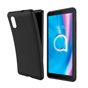 Black TPU Silicone Case UNI for Alcatel 1A 2020