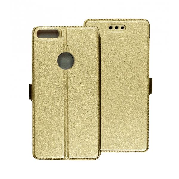Gold Book Pocket case for Alcatel 1S