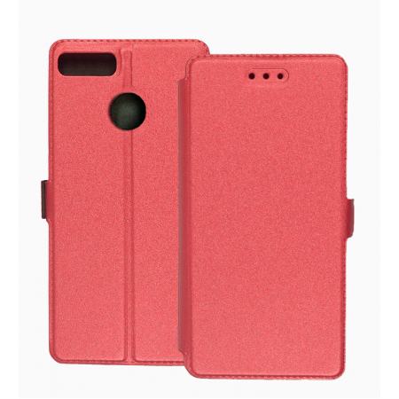 Pink Book Pocket case for Alcatel 1S