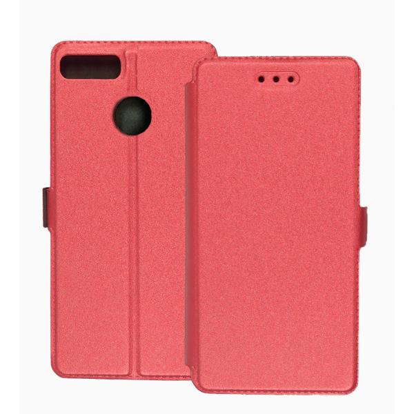 Pink Book Pocket case for Alcatel 1S