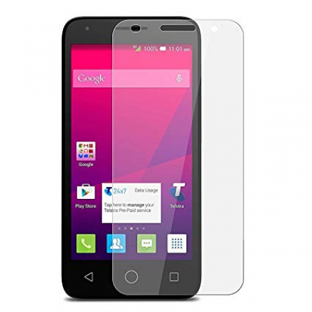 Impact resistant glass screen protector for Alcatel 1e