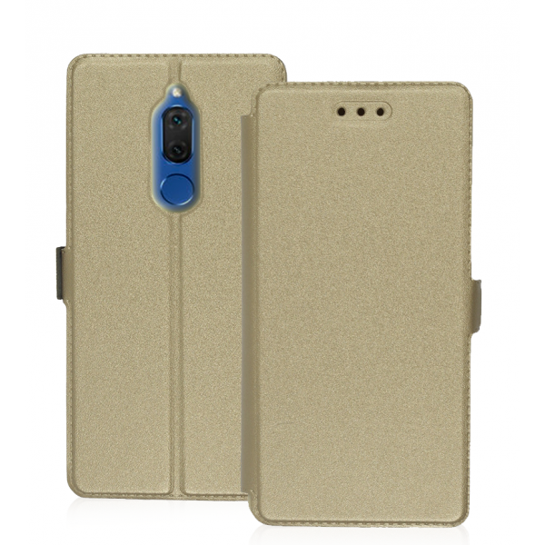 Book Pocket case for Huawei Mate 10 Lite - gold