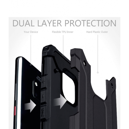 Black Forcell Armor Case Huawei Mate 20 Pro