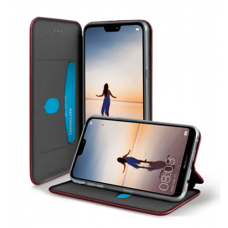 Red-Wine Book Elegance case for Huawei P20 Lite