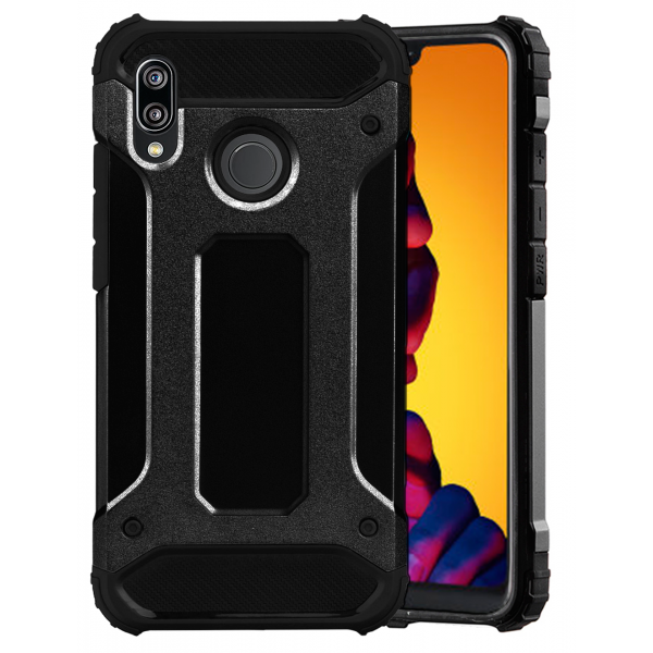 Black Forcell Armor Case Huawei P20 lite ANE-LX1/2