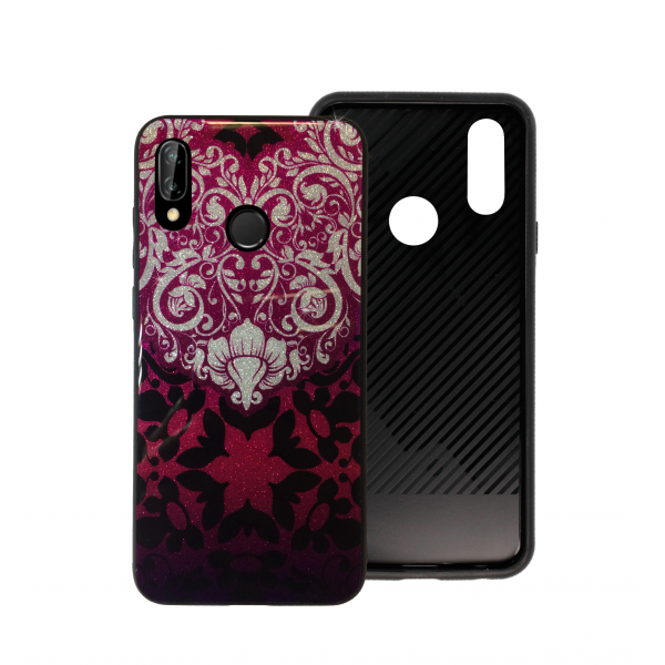 Pink Glass Case BETTER for Huawei P20 lite