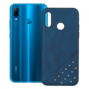Beeyo Bards case - Design Heppens - blue for Huawei P20 Lite