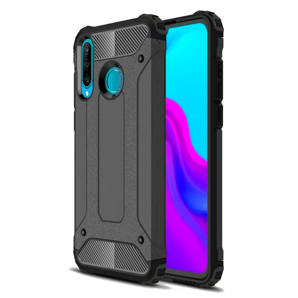 Black Armor Case for Huawei P30 lite