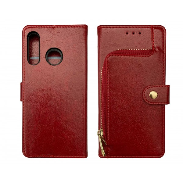 Red Book Wallet MAGNET case for Huawei P30 Lite