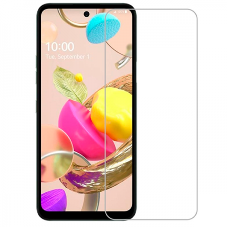 Impact resistant glass screen protector for LG K42