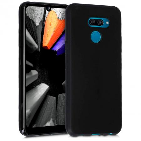 TPU Silicone Case UNI for LG K50 / Q60 - black matt