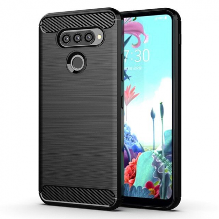 CARBON silicone back with carbon print for LG K50S