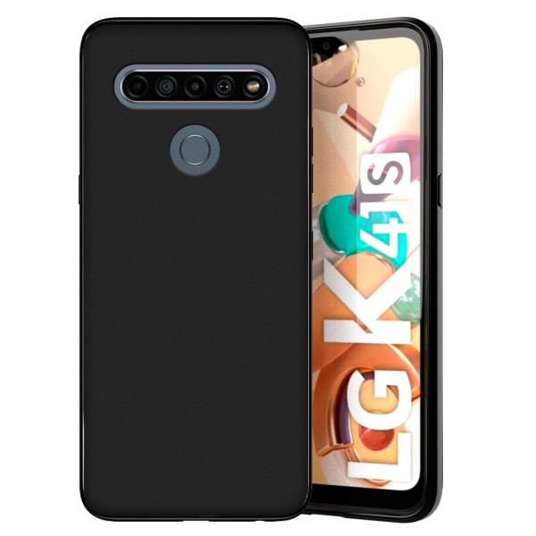 TPU Silicone Case UNI for LG K51S / K41S - black matt