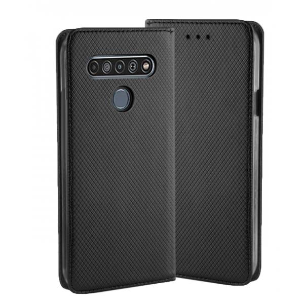 Black Book MAGNET case for LG K61 /  LMQ630EAW, LM-Q630EAW