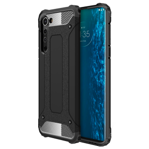 Black Armor Case for Motorola Edge