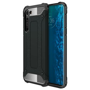 Black / Graphitе Armor Case for Motorola Edge