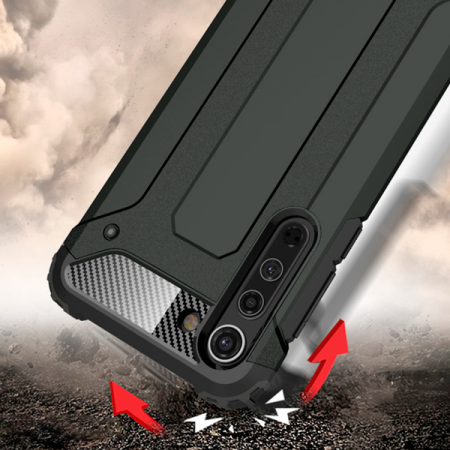 Black Armor Case for Motorola Edge