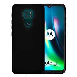 Black silicone back for Motorola Moto G9 Play