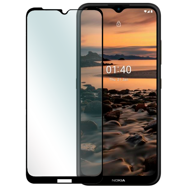 3D Full-screen tempered glass protector for Nokia 1.4
