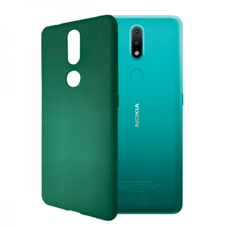 Green TPU Silicone Case for Nokia 2.4