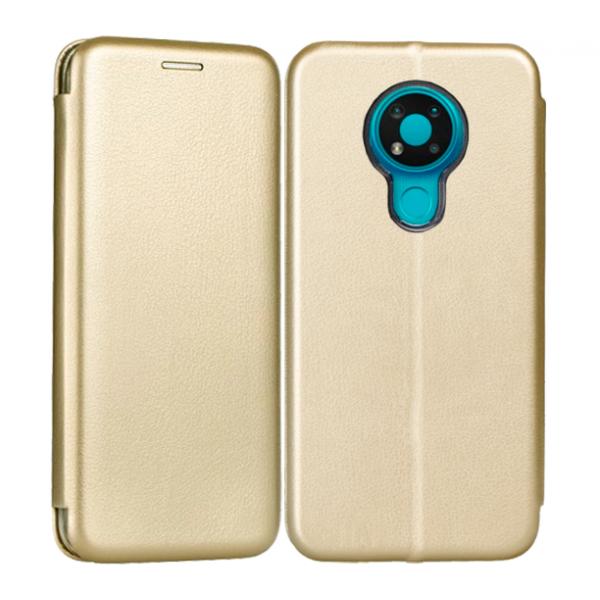 Gold Book Elegance case for Nokia 3.4