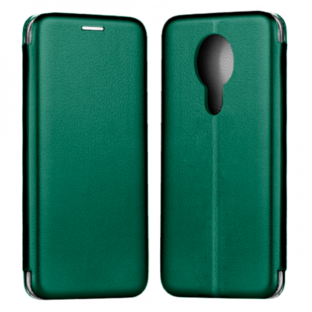 Green Book Elegance case for Nokia 3.4