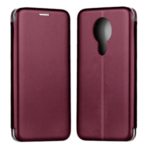 Red-Wine Book Elegance case for Nokia 3.4