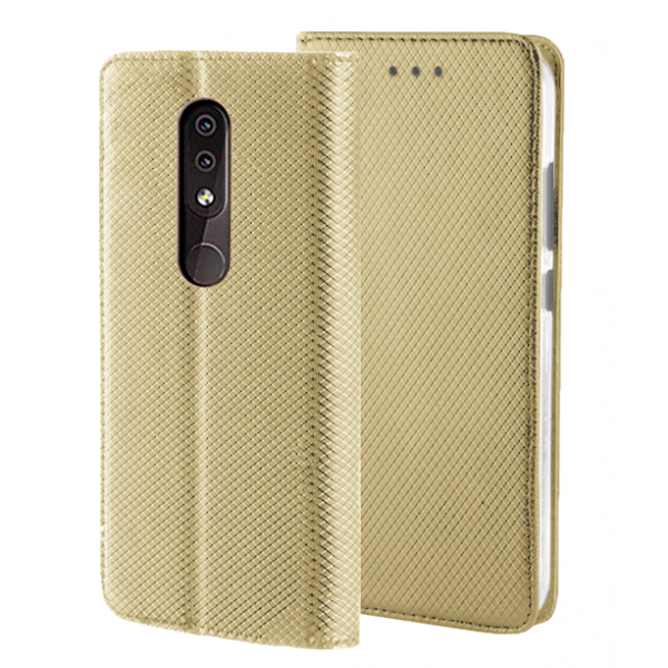 Gold Book MAGNET case for Nokia 4.2