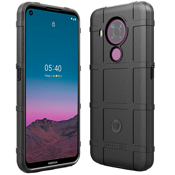 Black Schocked Case for Nokia 5.4