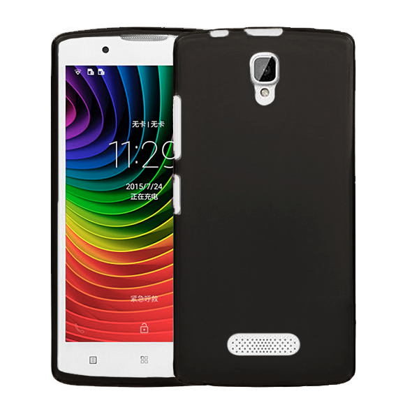 Black TPU Silicone Case for Lenovo A2010