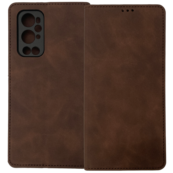 Brown Book MAGNET case for OnePlus 9 Pro
