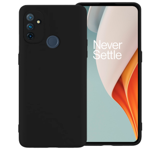 Black matt TPU Silicone Case UNI for OnePlus Nord N100 5G