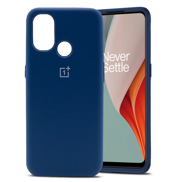 Blue Soft Shockproof Case for OnePlus Nord N100