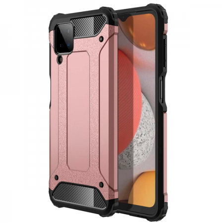 Rose-gold  Armor Case for Samsung Galaxy A12