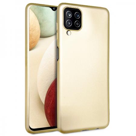 Gold TPU Silicone Case for Samsung Galaxy A12