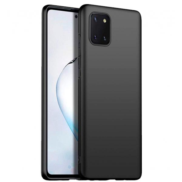 Ultra Thin TPU Silicone Case UNI for Samsung Galaxy Note10 Lite / SM-N770F/DS - black matt