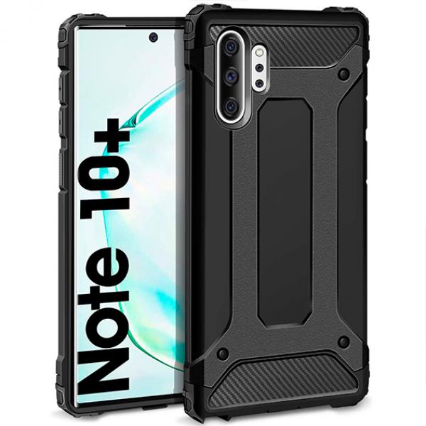 Black Armor Case for Samsung Galaxy Note 10 Plus / N975F