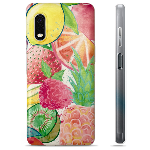 Ultra Thin TPU Silicone print Time#38 Case for Samsung Galaxy Xcover Pro