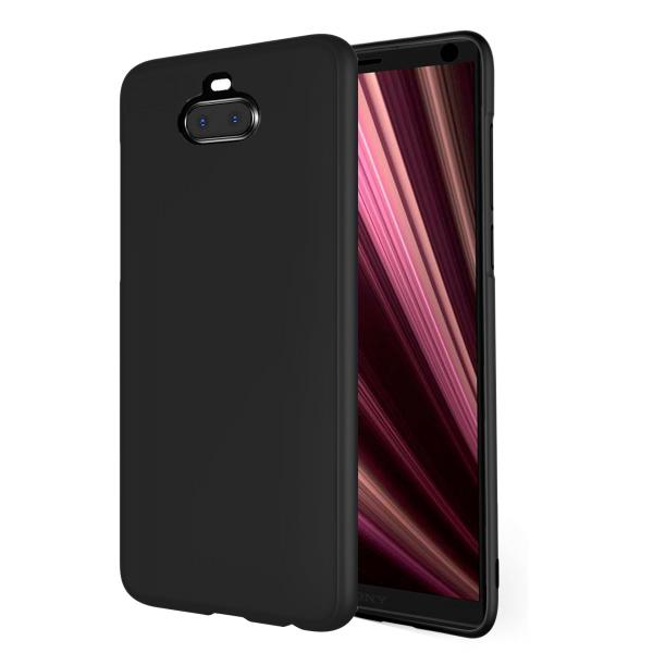 Black TPU Silicone Case UNI for Sony Xperia 10 Plus