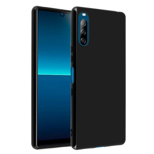 Black silicone back for Sony Xperia L4