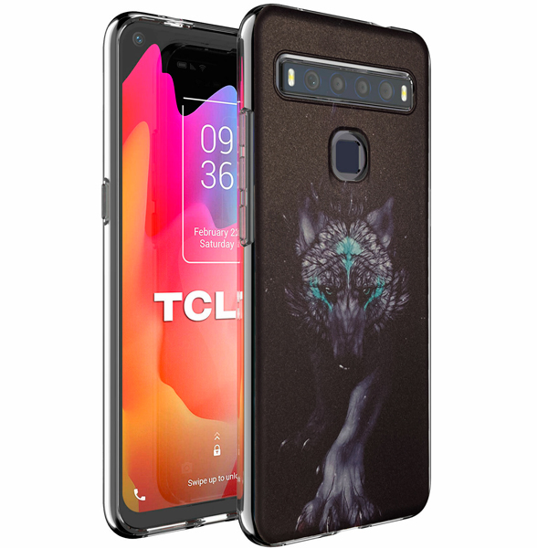 """TPU Silicone Case print """" Wolf """" for TCL 10L"""