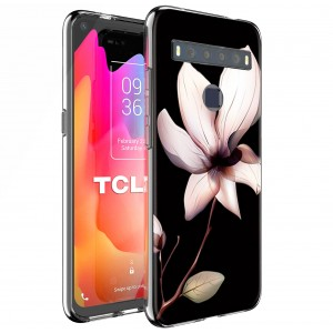 "TPU Silicone Case print "" Magnolia "" for TCL 10L"