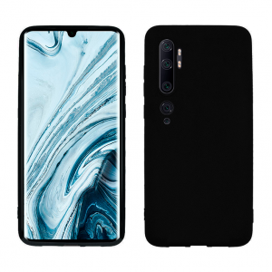 Ultra Thin TPU Silicone Case UNI for Xiaomi Mi Note 10- black matt