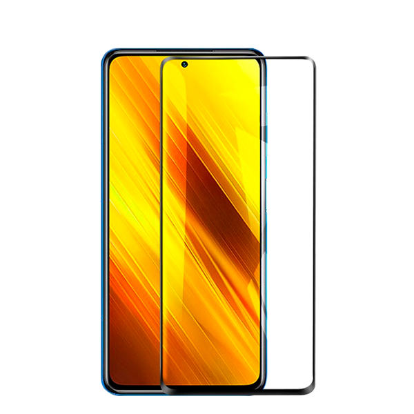 3D Full screen glass protector for Xiaomi Poco X3