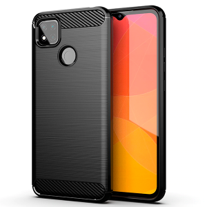 CARBON silicone back with carbon print for Xiaomi Redmi 9C FNC / M2006C3MNG