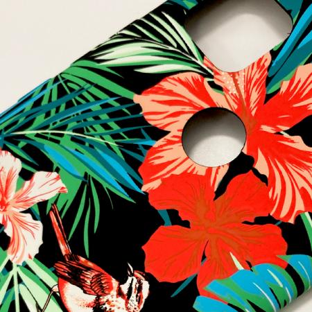 LUXO Black #H8 print TPU Silicone Case for Xiaomi Redmi 9C NFC